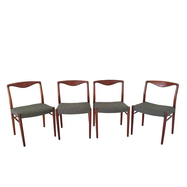 Kai Lyngfeldt Larsen Teak Dining Chairs - S/4 - Image 1 of 5
