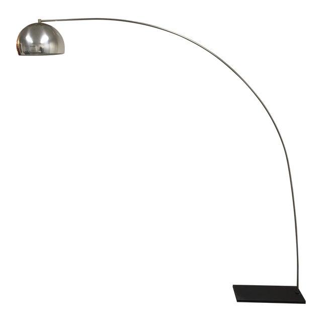1970 S Mid Century Chrome Ball Arch Floor Lamp Chairish
