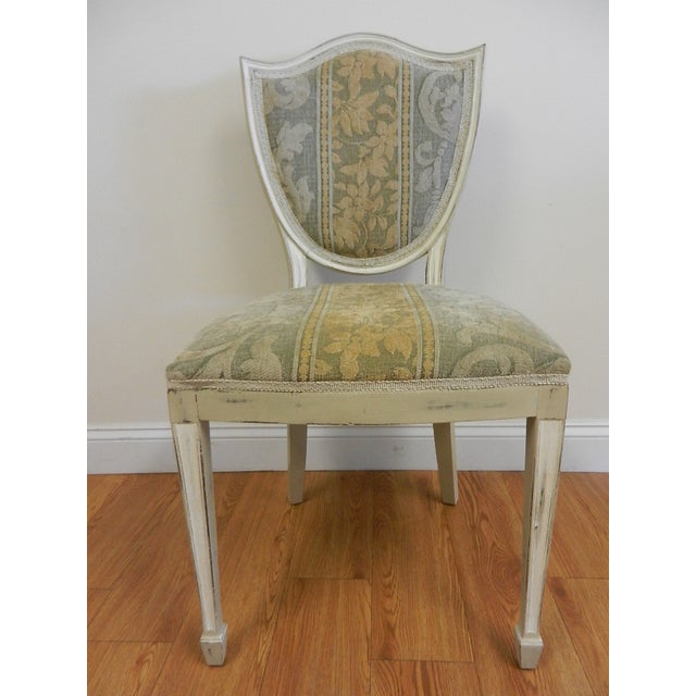 Shield Back Dining Chairs - Set of 6 - Image 4 of 8