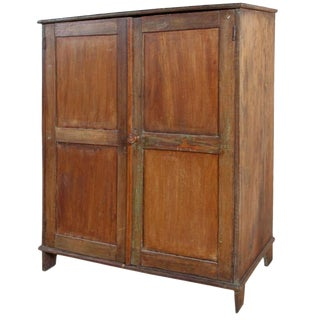 Antique Wood Armoire