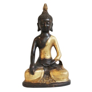 Asian Bronze Sitting Buddha