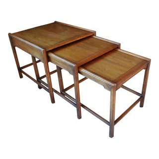 Heritage Furniture Mid-Century Modern Nesting Tables - Set of 3