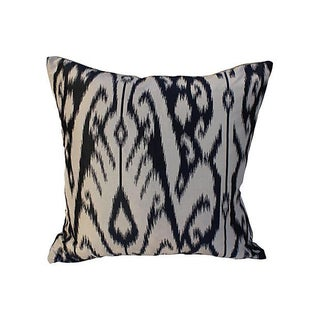 Manuel Canovas Fabric Silk Ikat Pillow
