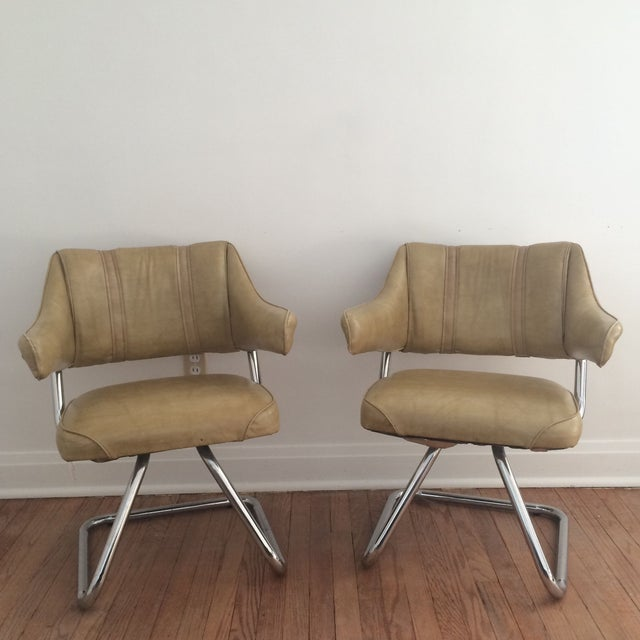 Atomic Era Howell Chairs - A Pair - Image 2 of 8