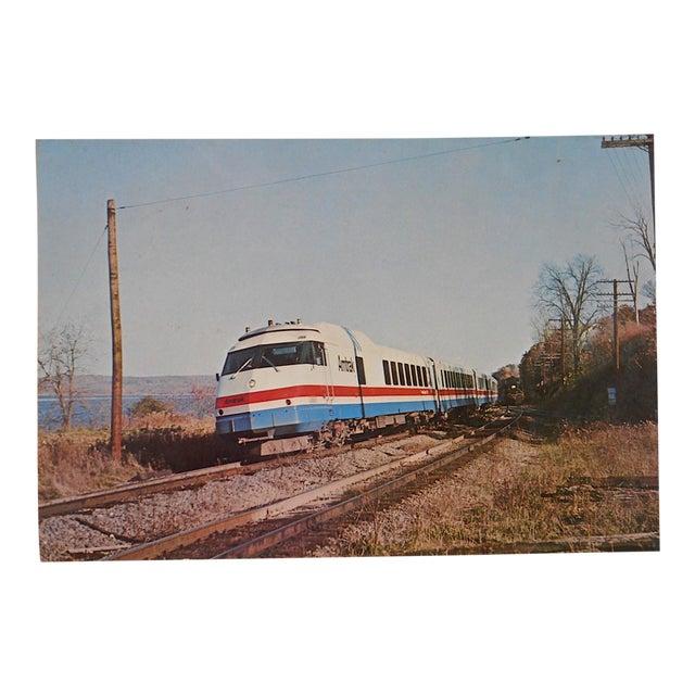 Image of Vintage Railroad Locomotive Photo