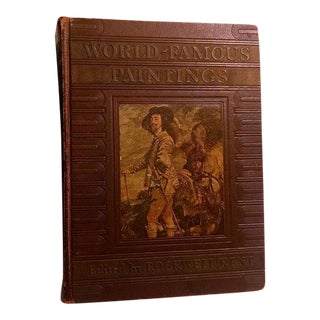 1939 World Famous Paintings Book