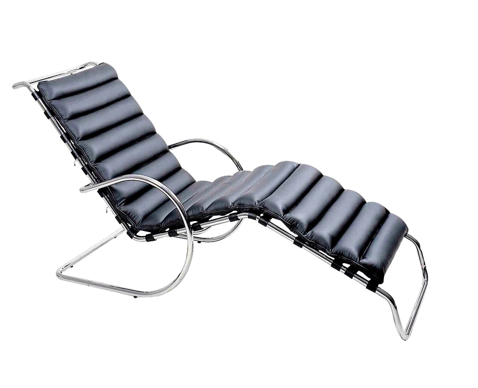 Mies van der Rohe Adjustable MR Chaise Lounge  Chairi