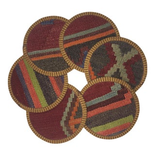 Kilim Coasters Set of 6 | Belgin