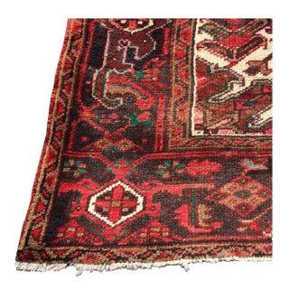 Antique Heriz Persian Oriental Wool Rug - 9' x 12
