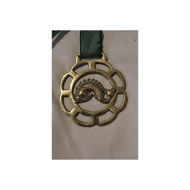 Image of Horse Brass Dolphin Ornament
