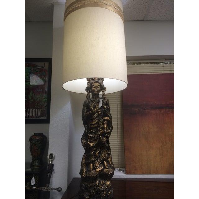Large Mid-Century Geisha Lamp - Image 2 of 6