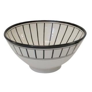 Tapis Design Black & White Salad Bowl