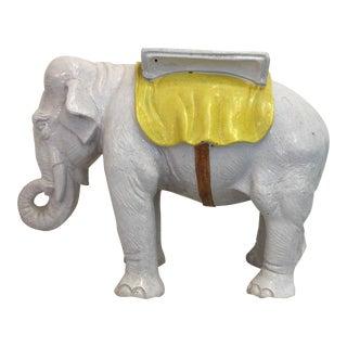 Italian Terra-Cotta Elephant Garden Seat