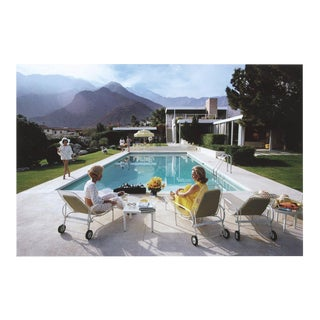 "Slim Aarons ""Poolside Gossip"" Photo Print"