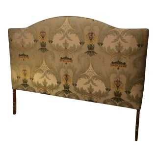 Damask Upholstered King Size Headboard