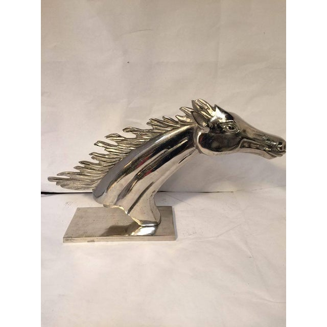 Racing Silver Horse - Image 3 of 6