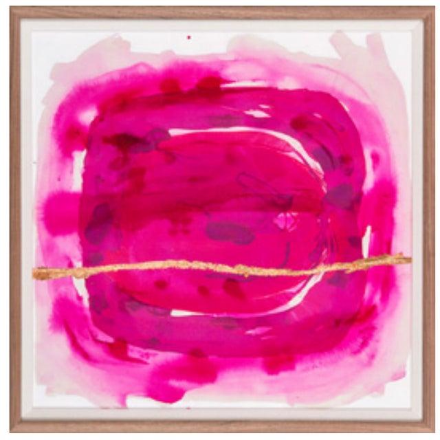 Framed Painting - Wabi Sabi Fuschia - Image 4 of 4