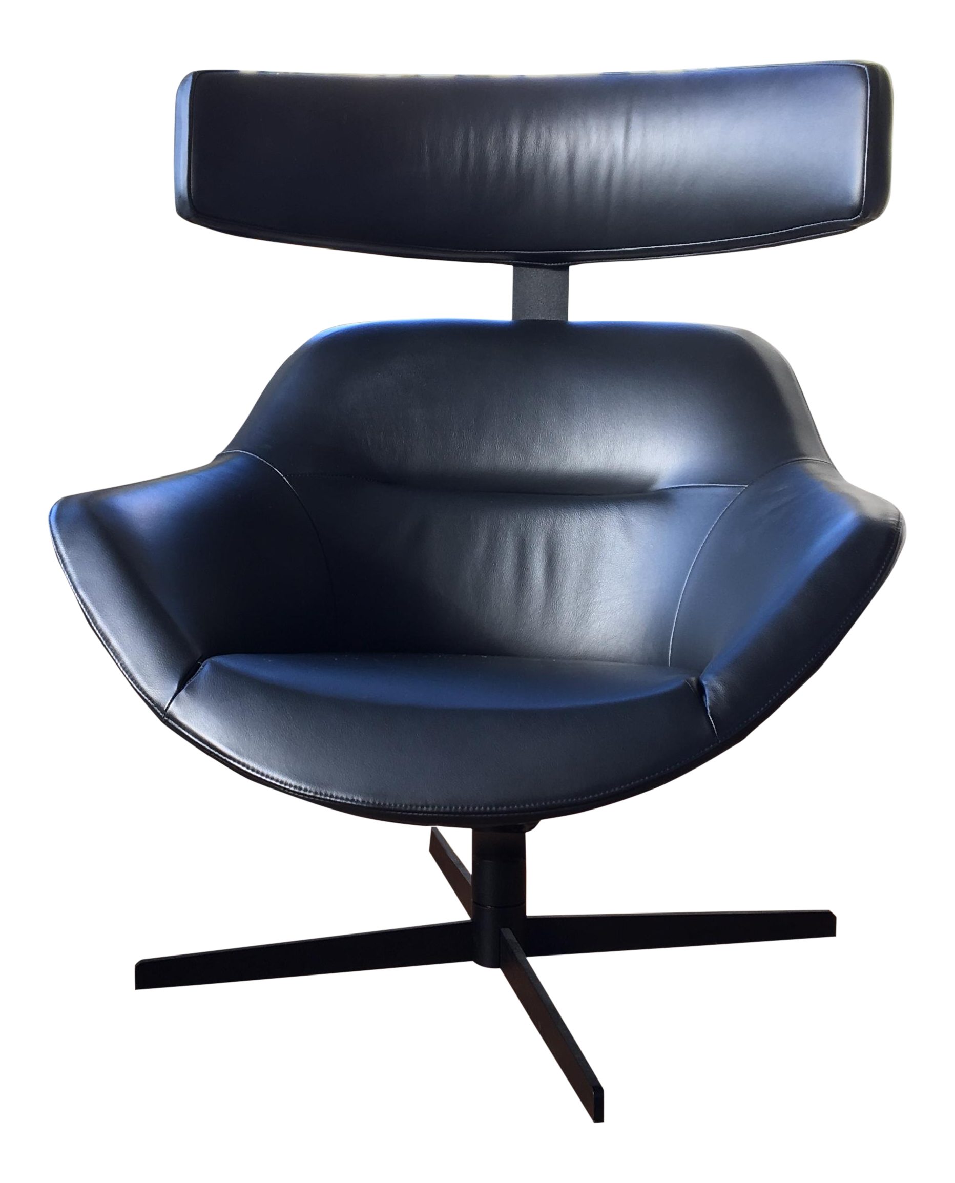 Cassina Auckland Swivel Armchair Chairish