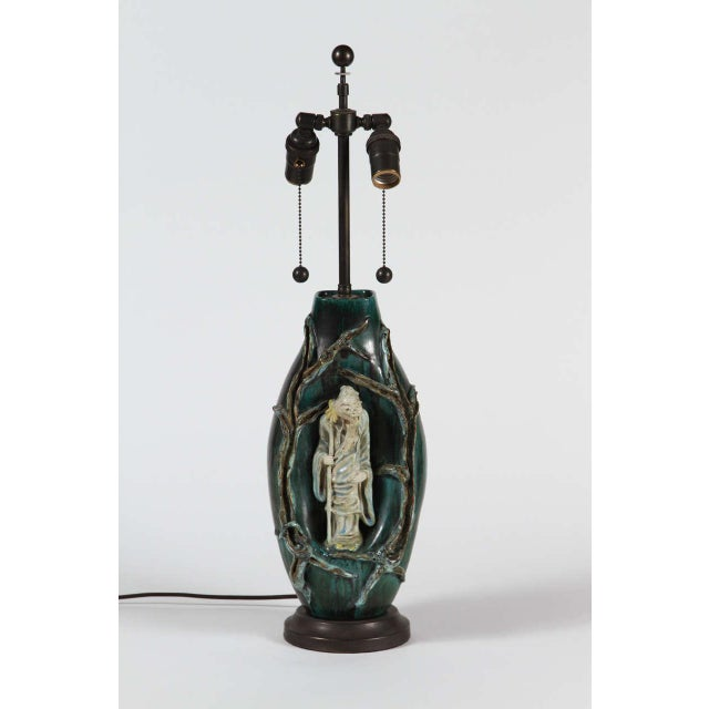 Marcello Fantoni Chinese Scholar Table Lamp - Image 3 of 9