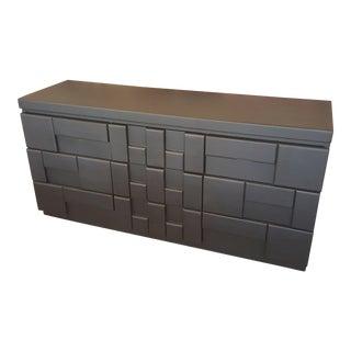 Black Brutalist Dresser