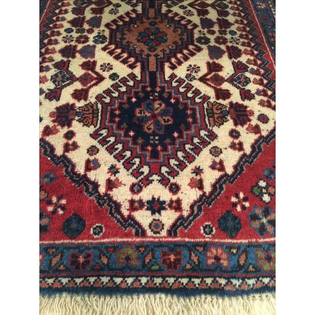 """Hand-Knotted Persian Tribal Rug - 1'10"""" X 2'11"""" - Image 3 of 4"""