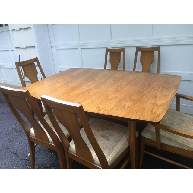 Kent coffey perspecta series dining table chairs set