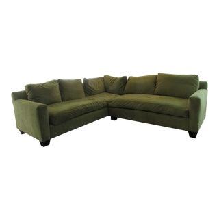 Brand New Green Custom Sectional