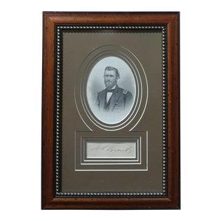 Circa 1864 General Ulysses S. Grant US Civil War Print