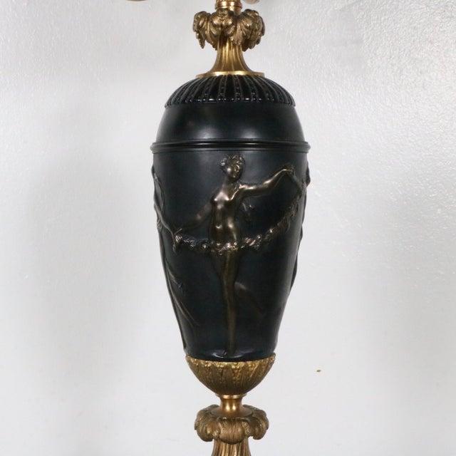 Image of French Bronze Candelabra
