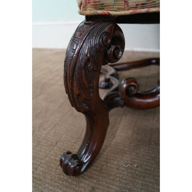 Spanish Renaissance Style Wing Chair - Image 6 of 7