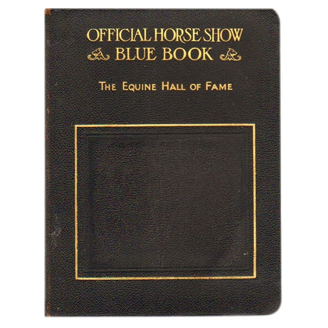 Image of The Official Horse Show Blue Book