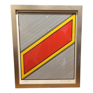 """Krushenick """"Silver Image"""" silkscreen"""