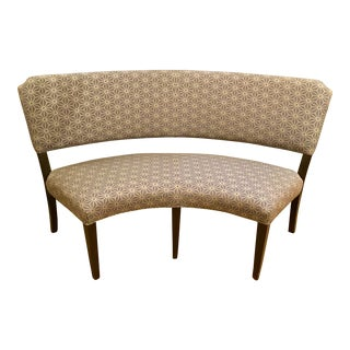 Drexel Heritage Curved Dining Bench