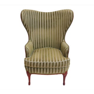 Federal Style Butterfly Wing Chair