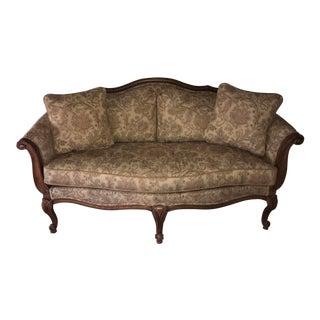 """Ethan Allen """"Evette"""" Upholstered Settee"""