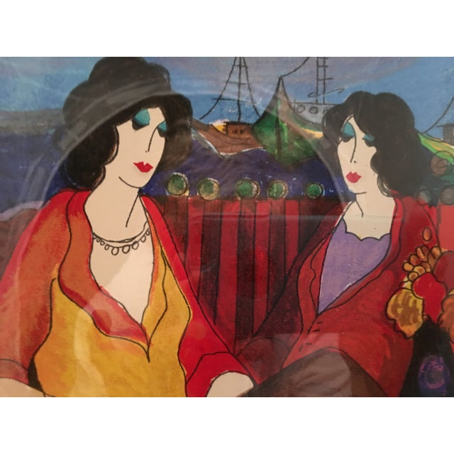 "Itzchak Tarkay ""At thePort"" Signed and Numbered - Image 8 of 9"