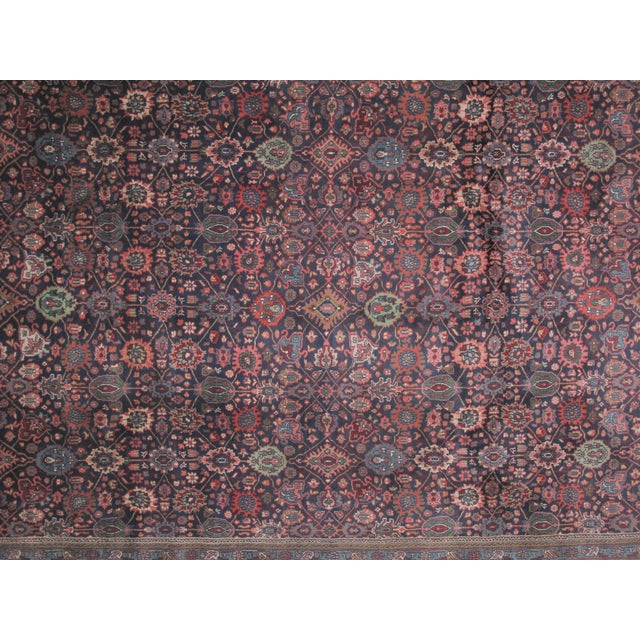 "Bijar Carpet - 11'10"" X 8'9"" - Image 4 of 6"