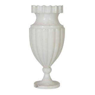 Art Deco Alabaster Urn Lamp