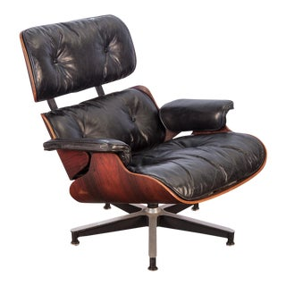 Second Generation 1960s Eames 670 Lounge Chair for Herman Miller