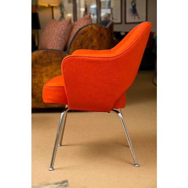Mid-Century 1960s Set of Six Saarinen Executive Lounge Chairs - Image 5 of 8