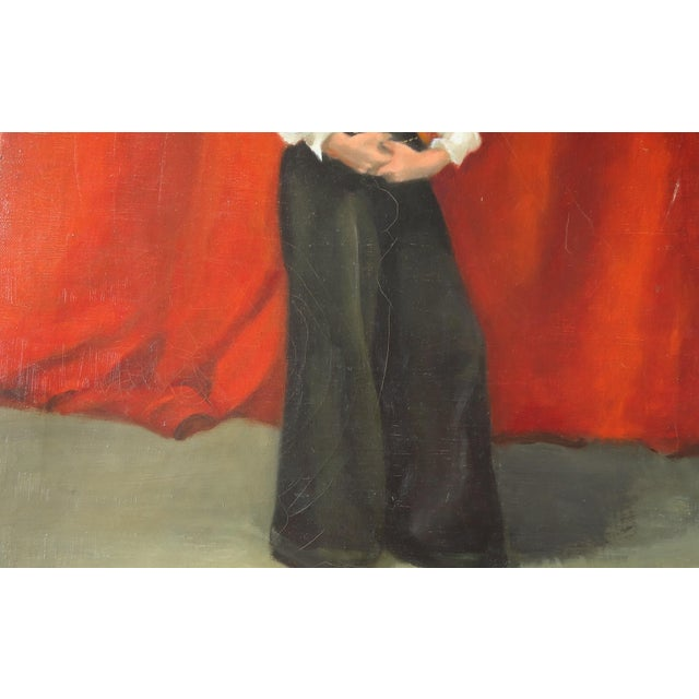Image of Estelle Bernstien Vintage Painting of a Woman
