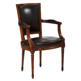 Antique French Louis XVI Style Armchair