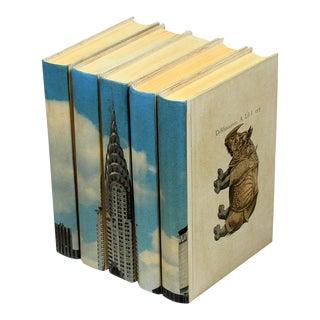 Sarried Ltd Chrysler Building Books - Set of 5