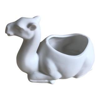 Porcelain Camel Matchstick Holder