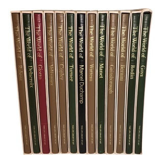 Vintage Time-Life Library of Art Books - Set of 13