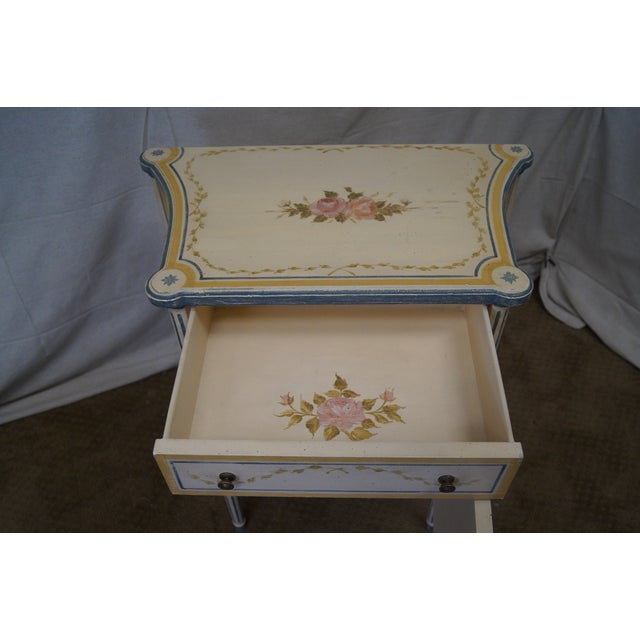 Image of Maitland Smith Louis XVI Hand Painted Commode