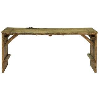 Antique Sarreid LTD Elm Door Console Table