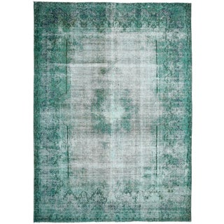 "Vintage, Hand Knotted Area Rug - 8' 10"" x 12' 5"""