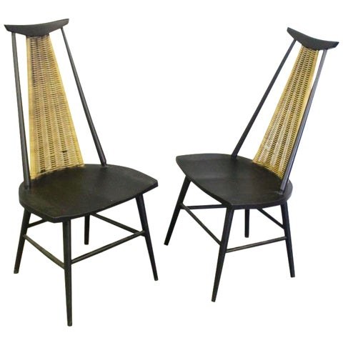 Image of Mid-Century Modern Boyuer Scott Chairs - A Pair