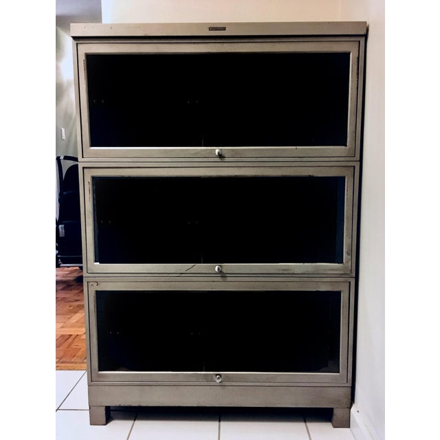 Vintage Wernicke Barrister Bookcases by Steelcase - A Pair - Image 2 of 5